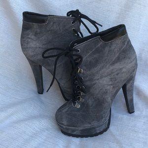 Xhilaration Platform Heel Boots